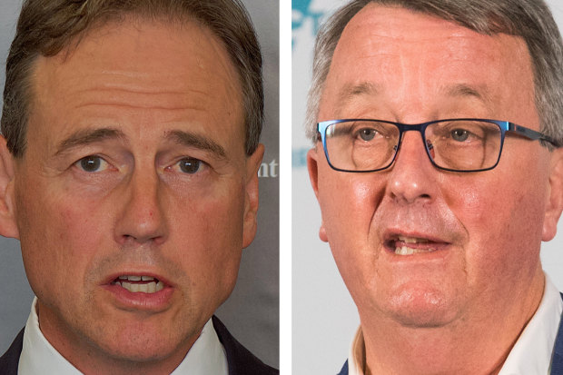 Greg Hunt has contradicted Martin Foley's claims about health funding.