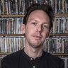 Ben Kenny, owner and manager of video shop Film Club in Sydney's Darlinghurst.