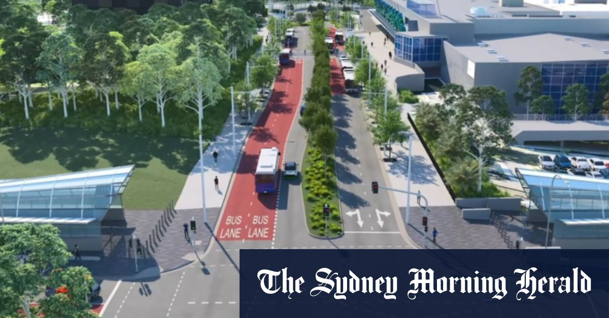 'Fancy bus stop': $100m transport interchange in Sydney's north derided – Sydney Morning Herald
