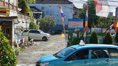 The Sari Club site in Kuta.