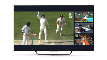Kayo features more than 50 sports, and you can mix and match live events and replays on a single screen.