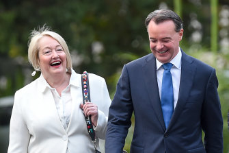Opposition Leader Michael O'Brien and shadow treasurer Louise Staley have backed the introduction of quotas to increase female representation in the Liberal Party.