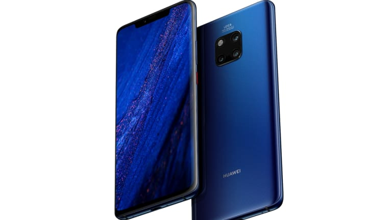 The Mate20 Pro features an interesting rear design.