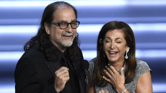 After Emmys proposal, couple continue to share their love story on TV