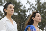 Harriet Walter (left) and Frances O'Connor in Foxtel's new Australian drama, The End.