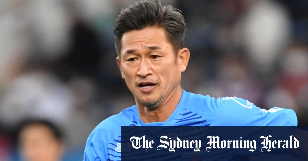 Why Japanese Beckham is still kicking at 54