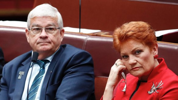 Senator Brian Burston denies offering to have sex with staffer to improve her mood