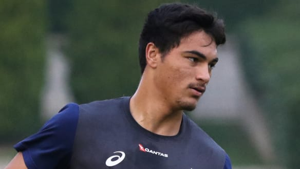 'Shattering': Petaia's Wallabies debut on ice after being ruled out of Italy match