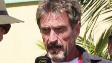 US presidential candidate John McAfee is using a technology developed in Perth to help him win the White House in 2020.