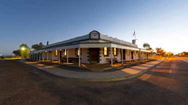 The Birdsville Hotel was built in the 1800s and has operated ever since.