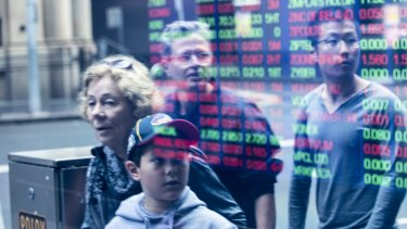 The ASX edged slightly lower in its second session of the year.