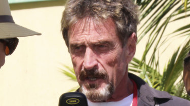 Software pioneer John McAfee says he knows the real Satoshi Nakamoto, and it is not Wright.