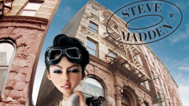 A Steve Madden advertisement from the 1990s.