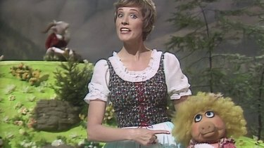 What a duet for a girl and goatherd ... Julie Andrews recreates The Sound of Music on The Muppet Show.