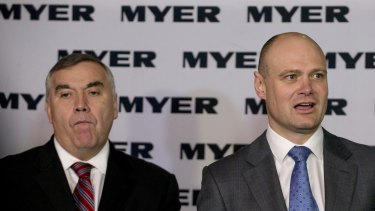 Richard Umbers took over as Myer chief when Bernie Brookes quit in 2015. Umbers has since left the retailer too.