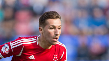 Newcomer: Polish international Radoslaw Majewski in action for Nottingham Forest.