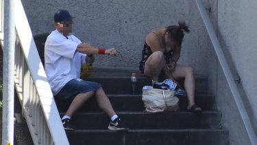 No longer hidden behind closed doors, Perth's drug users are increasingly public with their behaviour.