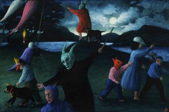 James Davis' Summer Solstice (bohemian series), showing at Qdos Fine Arts, Lorne.