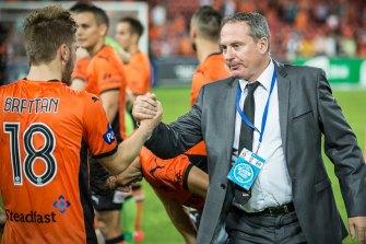 Football director Ken Stead has been made redundant at Macarthur FC.
