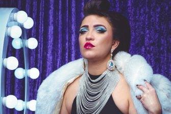 Cabaret artist Tash York recognises the opportunity of online audiences.
