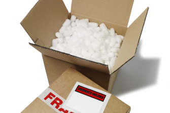Polystyrene packaging will be banned nationally from 2022.