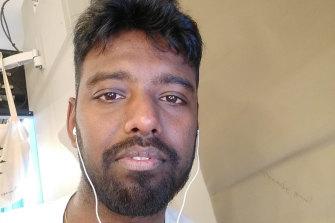 Tamil refugee Ramsiyar Sabanayagam, 29, was released on Thursday.