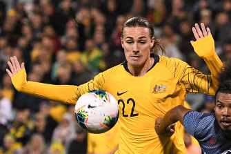 Jackson Irvine is hopeful the Socceroos will be able to take part in the rescheduled Copa America.