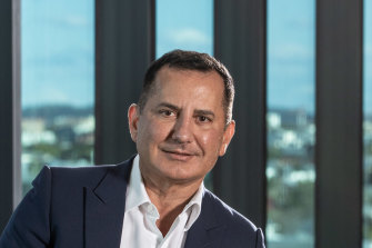 George Frazis, CEO of Bank of Queensland, said the deal would deliver sustainable profit growth.