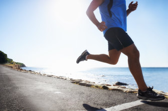 Our cartilage must be able to sense the strains and slight damage from running and rebuild itself, becoming stronger.