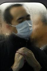 Michael Wolf, Tokyo Compression #75, 2010 (detail).