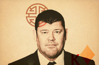 "A ""passive role"": James Packer denies knowledge of Crown's activities in China."
