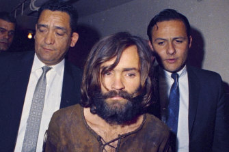 The real Charles Manson, shortly after his arrest in 1969.