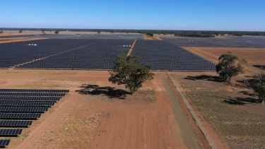 Victoria's biggest solar farm, Neoen's Numurkah plant, brings 128 megawatts of capacity to the grid, and was constructed in just a year.