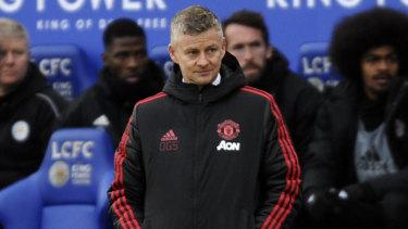 A winning start: Manchester United's interim manager Ole Gunnar Solskjaer.