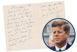 JFK and love letter
