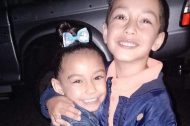 A heartbroken community mourns the loss of Mia and Daniel Spinks, aged four and six.