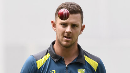 Langer defends Hazlewood's World Cup omission
