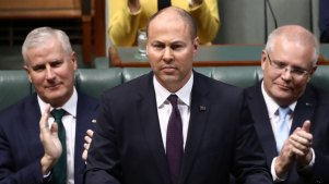 Treasurer Josh Frydenberg last year promised a surplus of $7.1 billion for 2019-20. That has since been downgraded to $5 billion and now the advent of coronavirus and bushfires has economists suggesting the budget could end up in deficit.