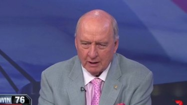 2GB presenter Alan Jones.