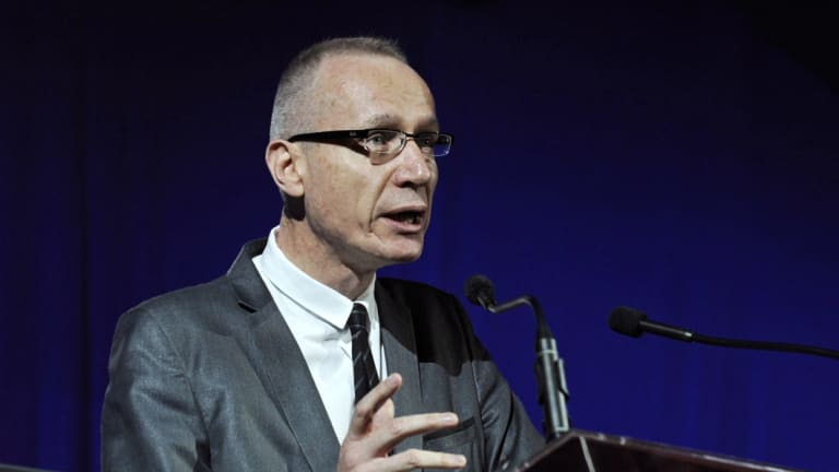 News Corp boss Robert Thomson has flagged the business' strong digital subscriber growth.