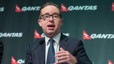 """""""We don't sponsor something to get involved in controversy"""": Qantas boss Alan Joyce."""