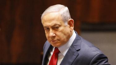 Silence from Israeli Prime Minister Benjamin Netanyahu.