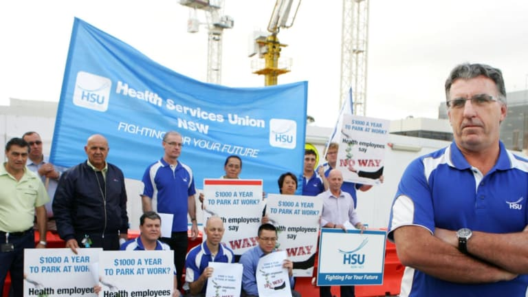 Health Services Union National Secretary, Gerard Hayes.