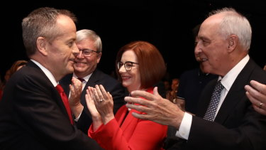 Paul Keating says coal is 'all over'.
