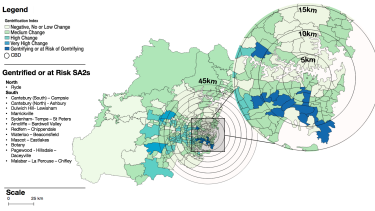 Sydney's gentrifying suburbs