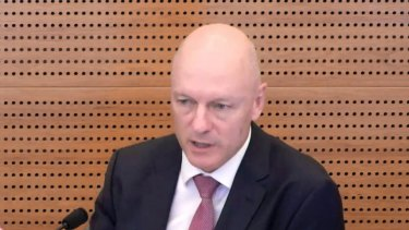 Clive van Horen, CBA, at the Royal Commission into Misconduct in the Banking, Superannuation and Financial Services Industry.