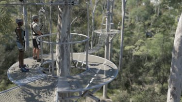 "The Mt Coot-tha zipline would have also included a ""skywalk""."