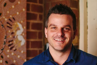 White Ribbon executive director Brad Chilcott