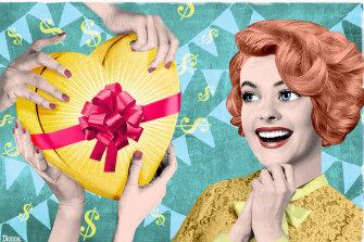 We're not holding back on gift spending.