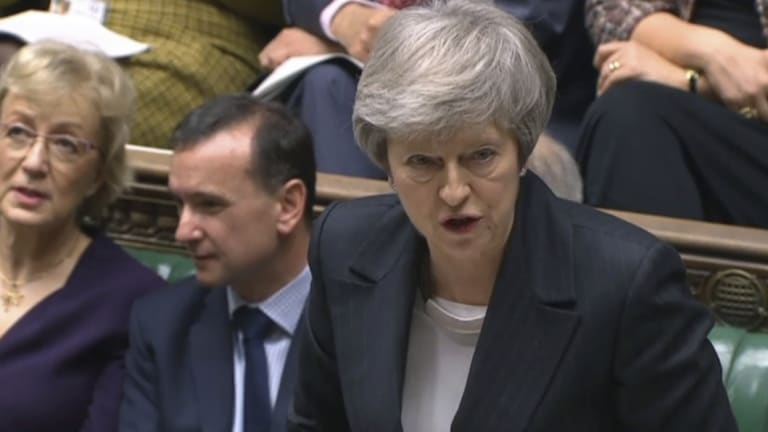 May's government was found in contempt in Parliament for refusing to provide the full legal advice it received on the Brexit deal it negotiated with the EU.
